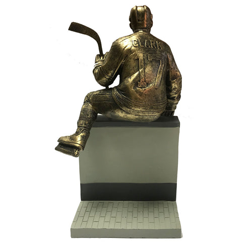 "Toronto Maple Leafs 10"" Clark Legends Row Bronze Replica Figurine"