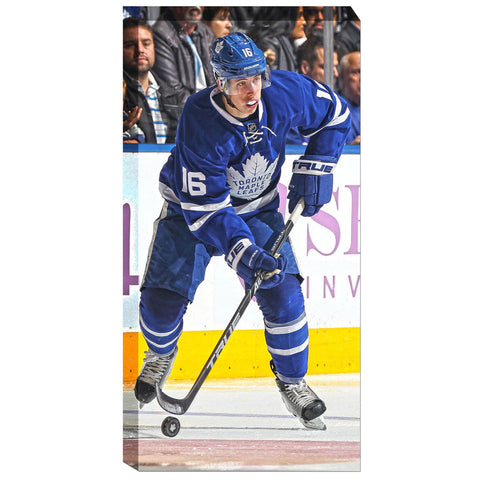 Toronto Maple Leafs Mitch Marner Replica Canvas Print