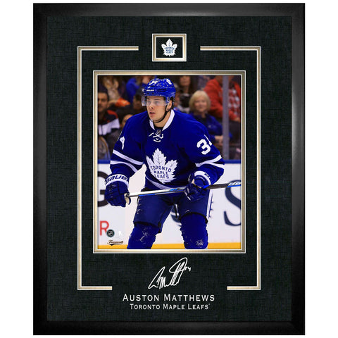 Toronto Maple Leafs Auston Matthews Replica Signature Frame