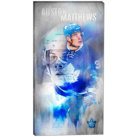 Toronto Maple Leafs Auston Matthews Canvas Print