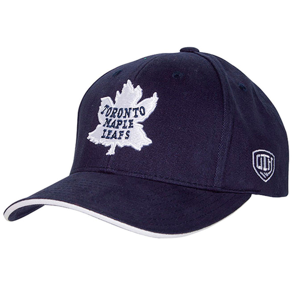 Toronto Maple Leafs Old Time Hockey Men's Raised Replica Adjustable Hat - shop.realsports - 1