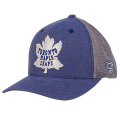 Toronto Maple Leafs Old Time Hockey Men's 1928 Duster Meshback Flexfit Hat - shop.realsports - 1