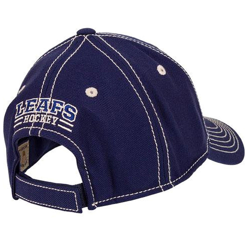 Toronto Maple Leafs Old Time Hockey Men's 1928 Keeper Velcro Adjustable Hat - shop.realsports - 2