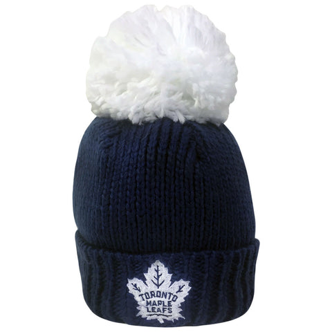 Toronto Maple Leafs Reebok Ladies Oversized Cuffed Pom Toque