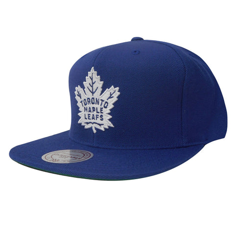 Toronto Maple Leafs Mens Wool Solid Snapback