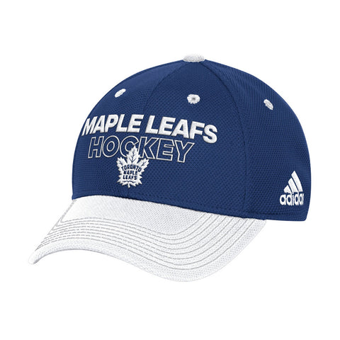 Toronto Maple Leafs Men's Authentic Two Tone Locker Room Structured Flex Hat