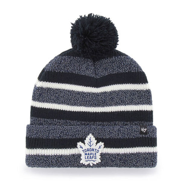 Toronto Maple Leafs Adult Post Route Cuffed Pom Toque