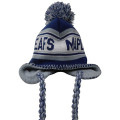 Toronto Maple Leafs Child Tassel Knit Pom Toque