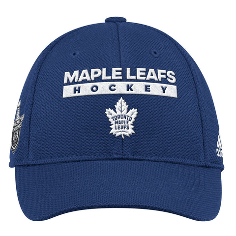 Toronto Maple Leafs Adult 2018 NHL Playoff Flex Hat With Patch