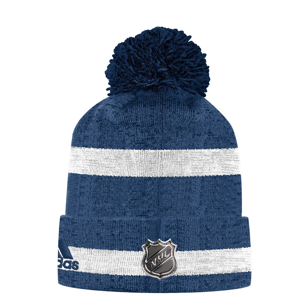 Toronto Maple Leafs Adidas Men's Team Cuffed Pom Toque