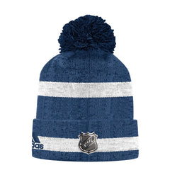 Maple Leafs Adidas Men's Team Cuffed Pom Toque