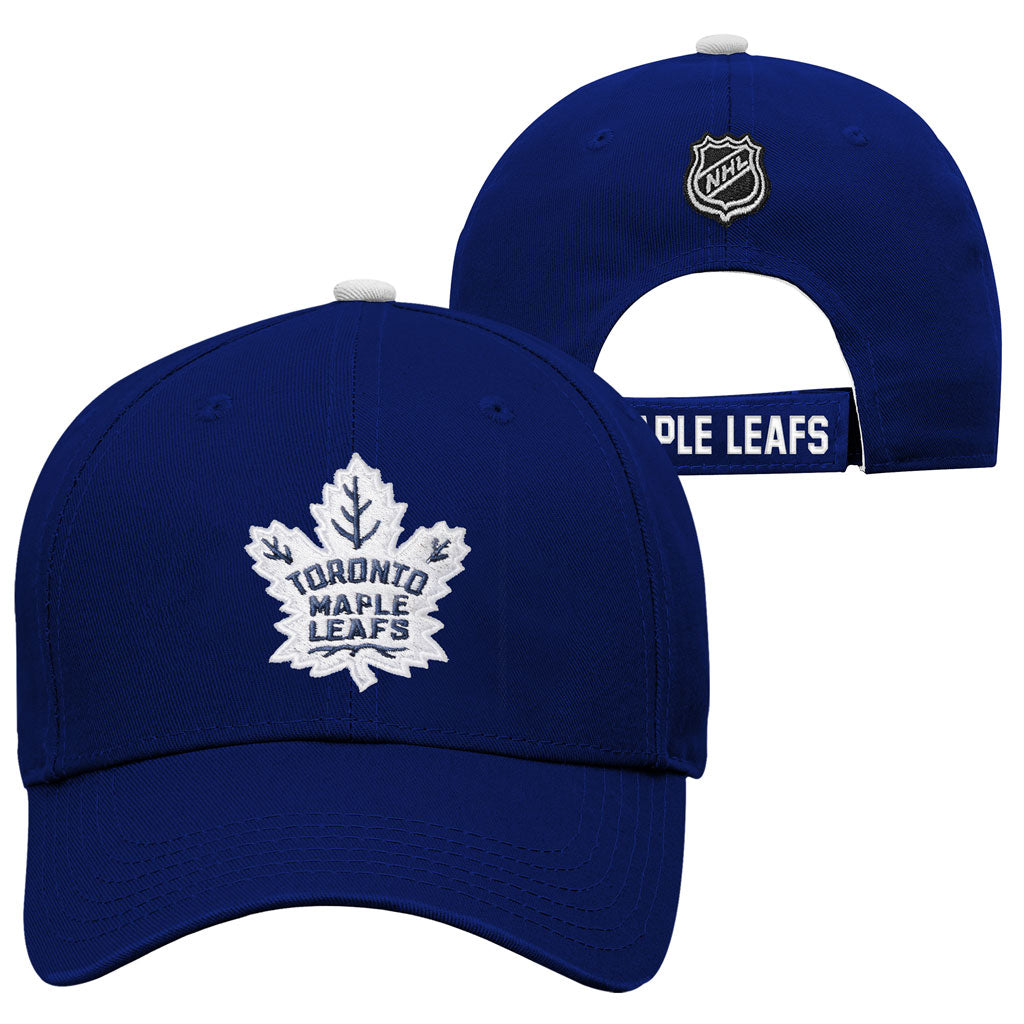 Maple Leafs Youth Basic Adjustable Hat