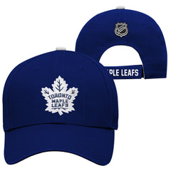 Toronto Maple Leafs Youth Basic Structured Adjustable Hat