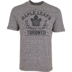 Toronto Maple Leafs Old Time Hockey Men's Tonal Granite S/S Tee - shop.realsports