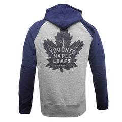 Toronto Maple Leafs Mens Raglan Fleece Hoody
