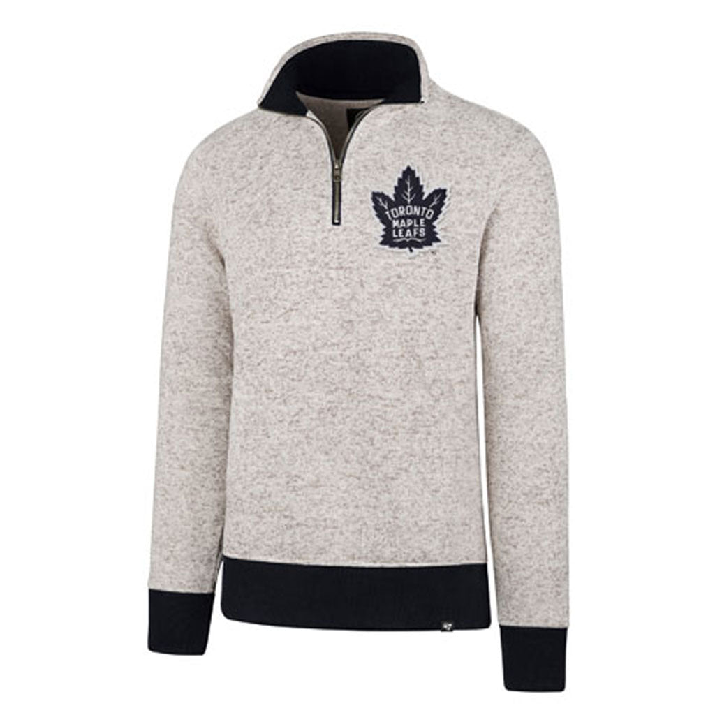 Maple Leafs 47 Brand Men's Kodiak 1/4 Zip Fleece