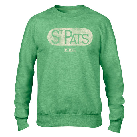 CCM St. Pat's Mens French Terry Crew