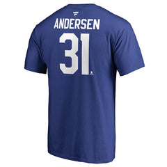 Maple Leafs Fanatics Men's Andersen Player Tee