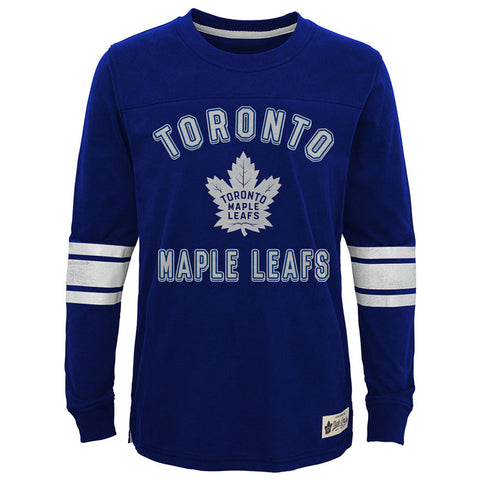 Toronto Maple Leafs Youth Historical Longsleeve Crew