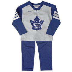 Toronto Maple Leafs Reebok Toddler MVP Pant Set - shop.realsports