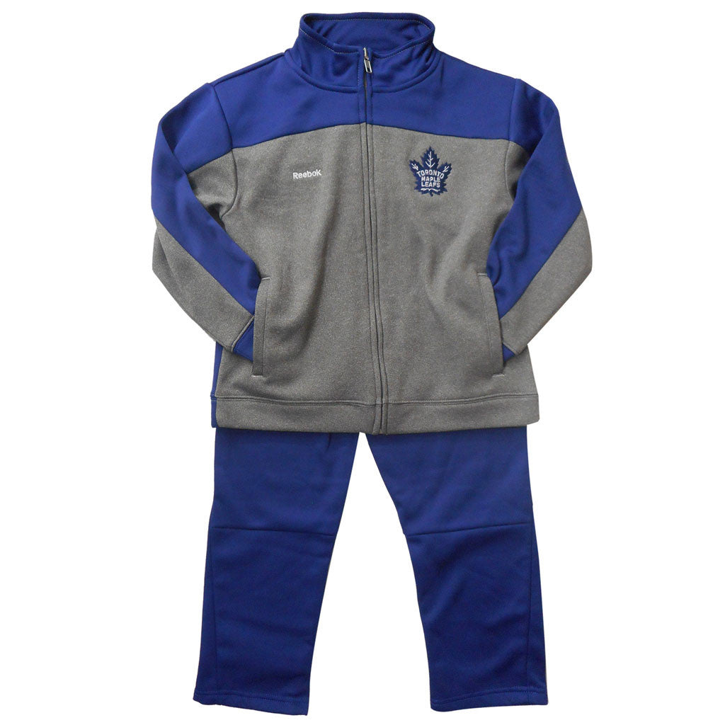 Toronto Maple Leafs Reebok Kids Trainer Pant Set - shop.realsports