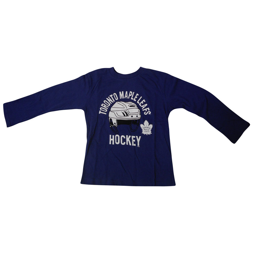 Toronto Maple Leafs Child Helmet Head Longsleeve