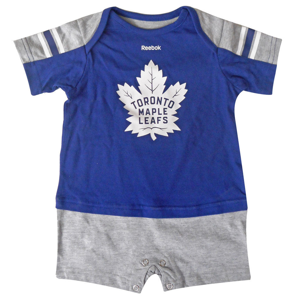 Toronto Maple Leafs Reebok Infant 'Breakout Star' Jersey Romper - shop.realsports