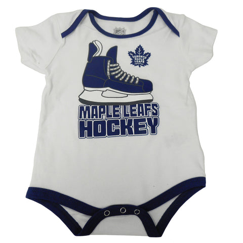 Toronto Maple Leafs Infant Hat Trick Creeper 3 Pack