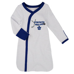 Toronto Maple Leafs Infant Layette 3-Piece Sleeper Set