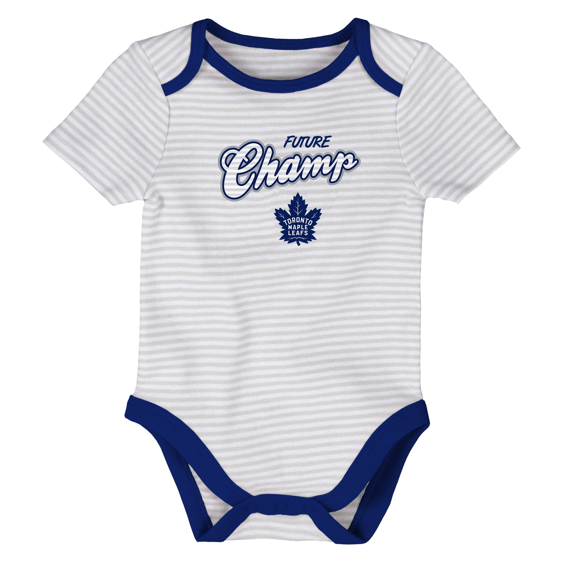 Toronto Maple Leafs Infant Layette 3-Piece Creeper Set