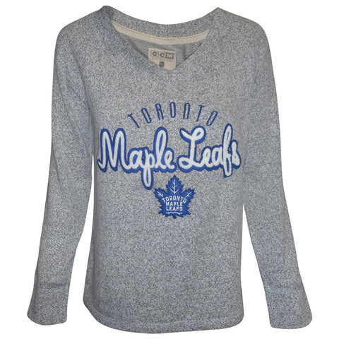 Toronto Maple Leafs CCM Ladies New Comfy Crew Sweater