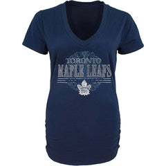 Toronto Maple Leafs Old Time Hockey Ladies Charm S/S Tee - shop.realsports