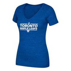 Toronto Maple Leafs Team Dassler V-Neck S/S Tee