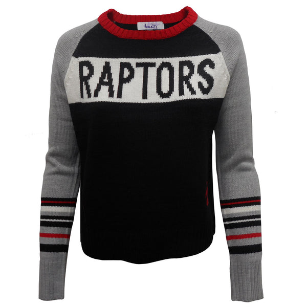 Toronto Raptors Touch Ladies Team Spirit Crew Sweater