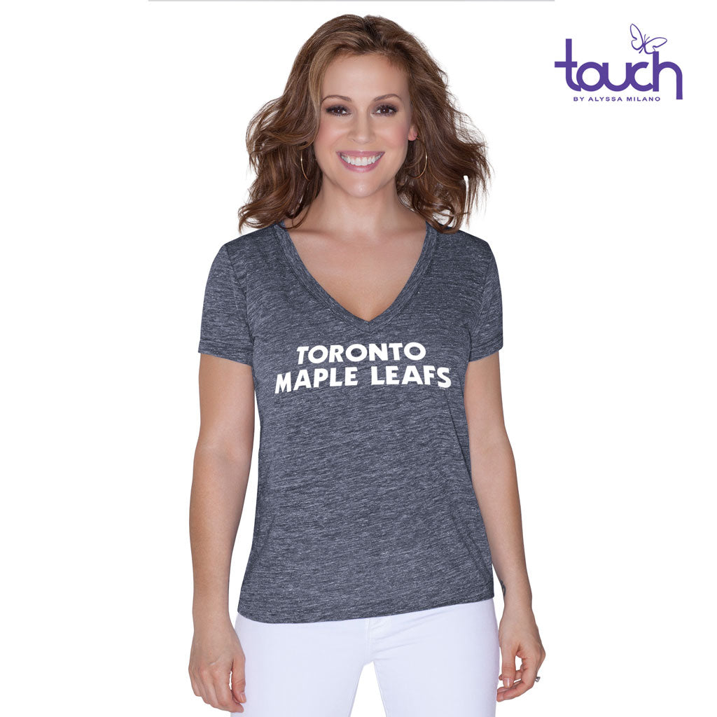 Maple Leafs Ladies Jersey Slubbed Tee