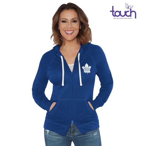 Toronto Maple Leafs Touch Ladies Post Season Full Zip Sweater
