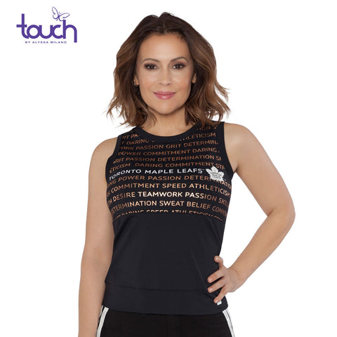 Toronto Maple Leafs Touch Ladies Endurance Tank Top