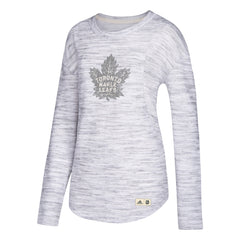 Toronto Maple Leafs Ladies Finished Crew L/S Shirt