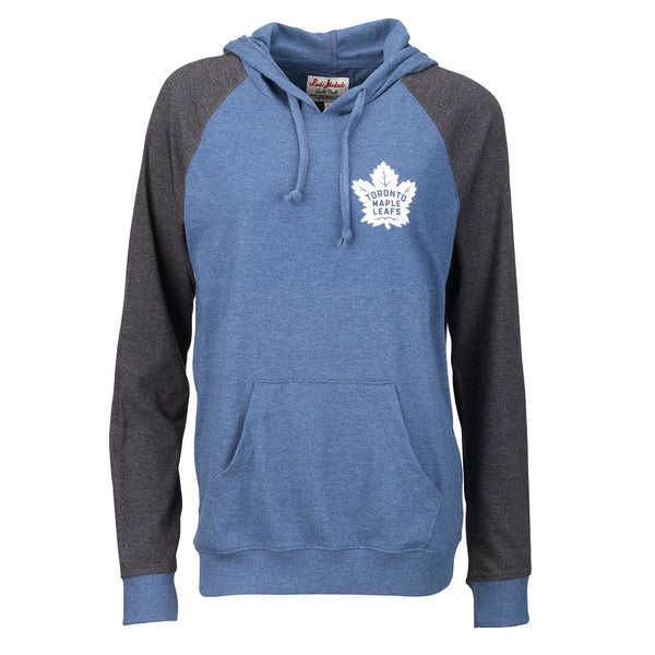 Toronto Maple Leafs Red Jacket Ladies Selene Two-Tone Pullover Hoody