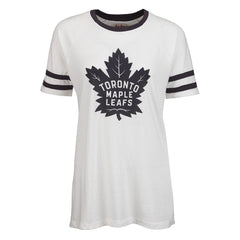 Maple Leafs Red Jacket Ladies Delta Tee