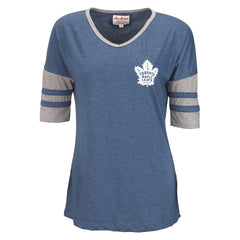Maple Leafs Red Jacket Ladies Sedgwick Wide Tee