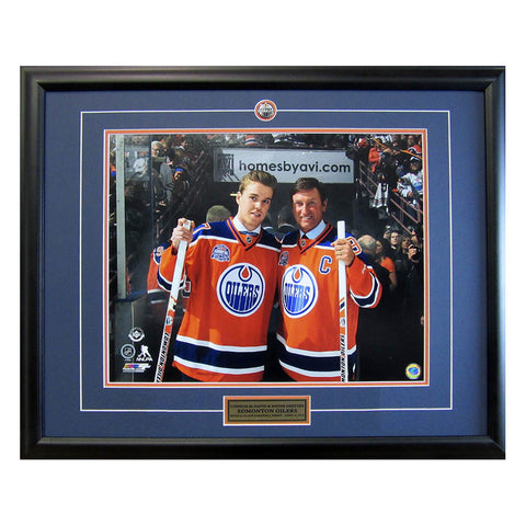 McDavid and Gretzky Final Game at Rexall