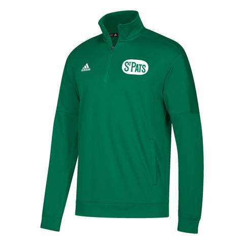 Maple Leafs Adidas St. Pats Men's Team 1/4 Zip Sweater