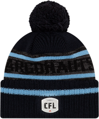 Argos New Era Men's Sideline Cuffed Pom Toque