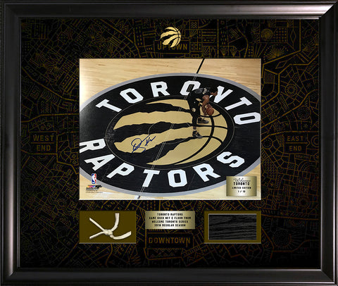 DeRozan Signed 11x14 Limited Edition Photo Framed