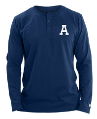 Argos New Era Men's Fan Henley Long Sleeve