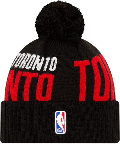 Raptors New Era Men's 2019 Tip Off Cuffed Pom Toque