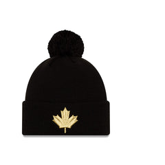 Raptors New Era Men's City Cuffed Pom Leaf Toque