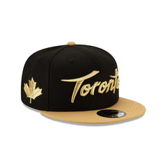 Raptors New Era Men's City Gold Brim Snapback