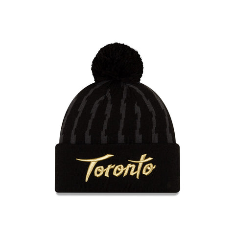Raptors New Era Men's City Edition Cuffed Pom Toque